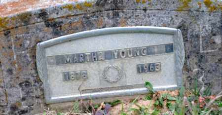 YOUNG, MARTHA - Clark County, Arkansas | MARTHA YOUNG - Arkansas Gravestone Photos