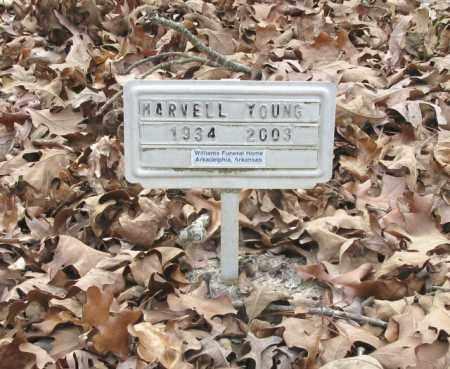 YOUNG, MARVELL - Clark County, Arkansas | MARVELL YOUNG - Arkansas Gravestone Photos