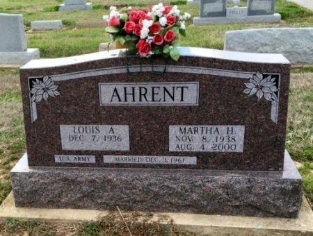 AHRENT, MARTHA H - Clay County, Arkansas | MARTHA H AHRENT - Arkansas Gravestone Photos