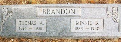BRANDON, THOMAS A - Clay County, Arkansas | THOMAS A BRANDON - Arkansas Gravestone Photos