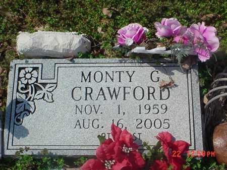 CRAWFORD, MONTY G - Clay County, Arkansas | MONTY G CRAWFORD - Arkansas Gravestone Photos