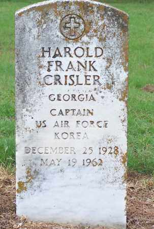 CRISLER (VETERAN KOR), HAROLD FRANK - Clay County, Arkansas | HAROLD FRANK CRISLER (VETERAN KOR) - Arkansas Gravestone Photos