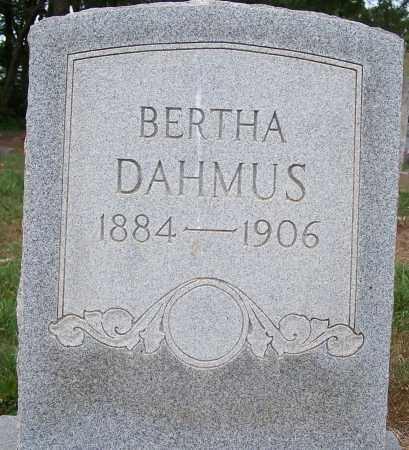 DAHMUS, BERTHA A - Clay County, Arkansas | BERTHA A DAHMUS - Arkansas Gravestone Photos