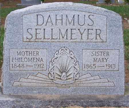 SELLMEYER, MARY - Clay County, Arkansas | MARY SELLMEYER - Arkansas Gravestone Photos