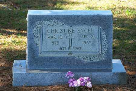 ENGEL, CHRISTINE - Clay County, Arkansas   CHRISTINE ENGEL - Arkansas Gravestone Photos