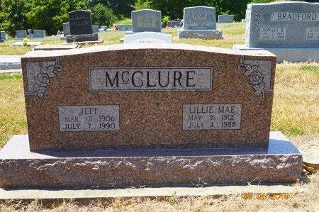 MCCLURE, LILLIE MAE - Clay County, Arkansas   LILLIE MAE MCCLURE - Arkansas Gravestone Photos