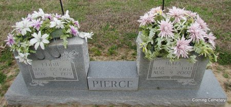 PIERCE, IRMA ONEIDA - Clay County, Arkansas | IRMA ONEIDA PIERCE - Arkansas Gravestone Photos