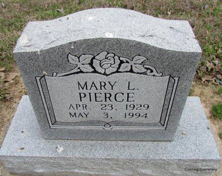 PIERCE, MARY L - Clay County, Arkansas | MARY L PIERCE - Arkansas Gravestone Photos
