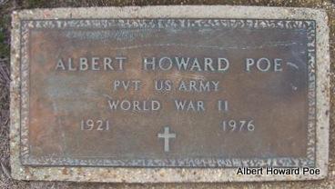 POE (VETERAN WWII), ALBERT HOWARD - Clay County, Arkansas   ALBERT HOWARD POE (VETERAN WWII) - Arkansas Gravestone Photos