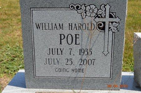 POE, WILLIAM HAROLD - Clay County, Arkansas | WILLIAM HAROLD POE - Arkansas Gravestone Photos