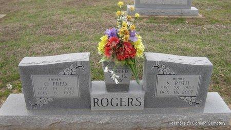 Rogers C Fred Clay County Arkansas C Fred Rogers Arkansas Gravestone Photos