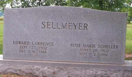 SELLMEYER, EDWARD L. - Clay County, Arkansas | EDWARD L. SELLMEYER - Arkansas Gravestone Photos