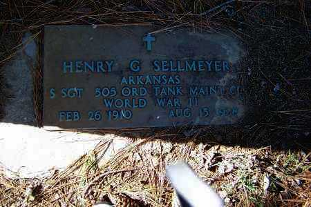 SELLMEYER (VETERAN WWII), HENRY G. - Clay County, Arkansas   HENRY G. SELLMEYER (VETERAN WWII) - Arkansas Gravestone Photos