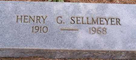 SELLMEYER, HENRY G. - Clay County, Arkansas   HENRY G. SELLMEYER - Arkansas Gravestone Photos