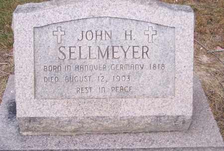 SELLMEYER, JOHN H - Clay County, Arkansas   JOHN H SELLMEYER - Arkansas Gravestone Photos
