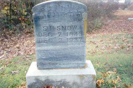 SNOW, SYLVESTER F - Clay County, Arkansas | SYLVESTER F SNOW - Arkansas Gravestone Photos