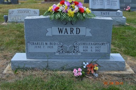 WARD, CHARLES M. ( BUD ) - Clay County, Arkansas   CHARLES M. ( BUD ) WARD - Arkansas Gravestone Photos