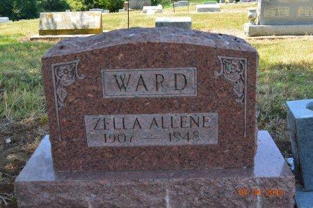 WARD, ZELLA ALLENE - Clay County, Arkansas   ZELLA ALLENE WARD - Arkansas Gravestone Photos