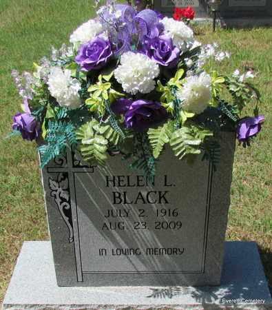 LITTLE BLACK, HELEN L - Cleburne County, Arkansas | HELEN L LITTLE BLACK - Arkansas Gravestone Photos