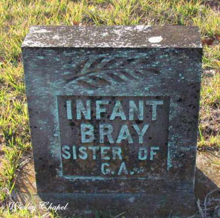 BRAY, INFANT - Cleburne County, Arkansas | INFANT BRAY - Arkansas Gravestone Photos