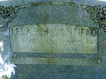 BROWNFIELD, LELA BERTHA - Cleburne County, Arkansas | LELA BERTHA BROWNFIELD - Arkansas Gravestone Photos
