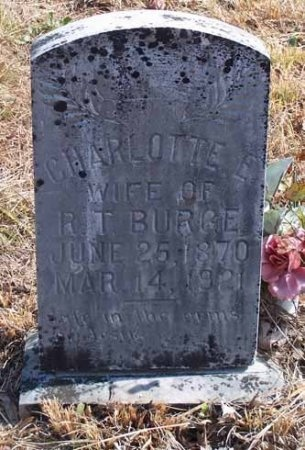 PHILLIPS BURGE, CHARLOTTE ELIZABETH - Cleburne County, Arkansas | CHARLOTTE ELIZABETH PHILLIPS BURGE - Arkansas Gravestone Photos