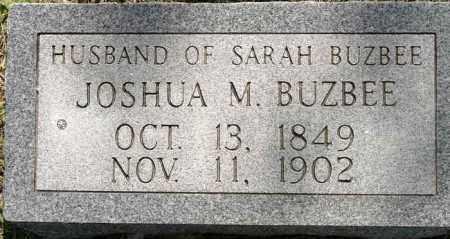 BUZBEE, JOSHUA M - Cleburne County, Arkansas   JOSHUA M BUZBEE - Arkansas Gravestone Photos
