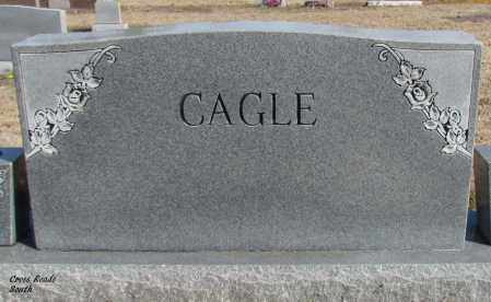 CAGLE, WILLIAM W (BACK OF STONE) - Cleburne County, Arkansas | WILLIAM W (BACK OF STONE) CAGLE - Arkansas Gravestone Photos
