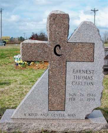 CARLTON, EARNEST THOMAS - Cleburne County, Arkansas | EARNEST THOMAS CARLTON - Arkansas Gravestone Photos