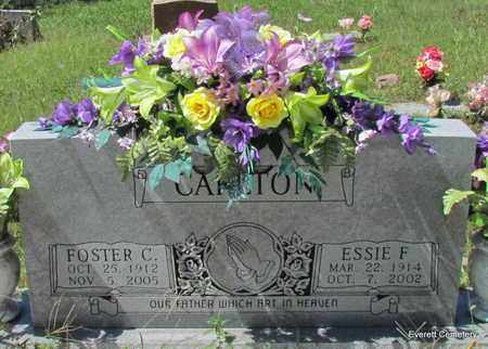 CARLTON, FOSTER C - Cleburne County, Arkansas | FOSTER C CARLTON - Arkansas Gravestone Photos
