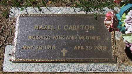 CARLTON, HAZEL L - Cleburne County, Arkansas | HAZEL L CARLTON - Arkansas Gravestone Photos