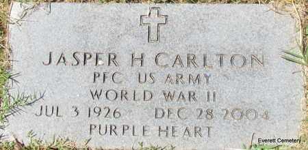 CARLTON (VETERAN WWII), JASPER H - Cleburne County, Arkansas | JASPER H CARLTON (VETERAN WWII) - Arkansas Gravestone Photos