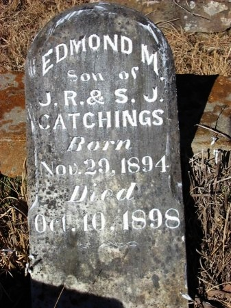 CATCHINGS, EDMOND M. - Cleburne County, Arkansas | EDMOND M. CATCHINGS - Arkansas Gravestone Photos