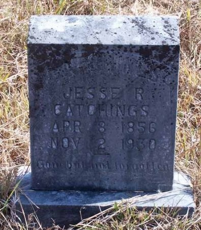 CATCHINGS, JESSE R. - Cleburne County, Arkansas | JESSE R. CATCHINGS - Arkansas Gravestone Photos