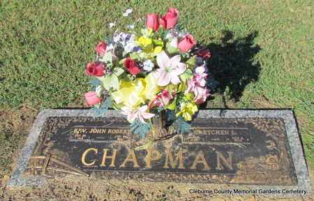 CHAPMAN, GRETCHEN L - Cleburne County, Arkansas | GRETCHEN L CHAPMAN - Arkansas Gravestone Photos
