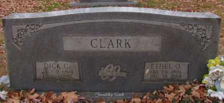 CLARK, ETHEL O - Cleburne County, Arkansas | ETHEL O CLARK - Arkansas Gravestone Photos