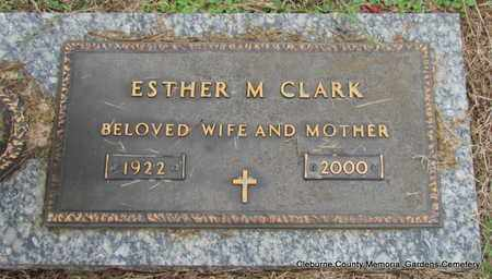 CLARK, ESTHER M - Cleburne County, Arkansas | ESTHER M CLARK - Arkansas Gravestone Photos