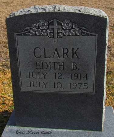 CLARK, EDITH B - Cleburne County, Arkansas | EDITH B CLARK - Arkansas Gravestone Photos