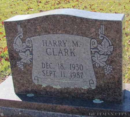 CLARK, HARRY M - Cleburne County, Arkansas   HARRY M CLARK - Arkansas Gravestone Photos