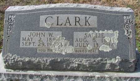 CLARK, SALLIE - Cleburne County, Arkansas | SALLIE CLARK - Arkansas Gravestone Photos