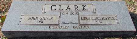 CLARK, LORN CHRISTOPHER (TWIN) - Cleburne County, Arkansas | LORN CHRISTOPHER (TWIN) CLARK - Arkansas Gravestone Photos