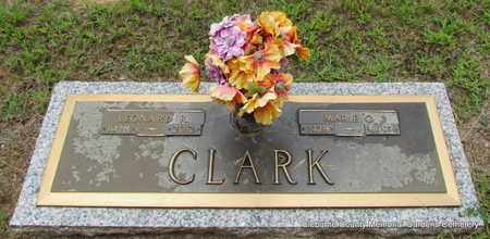 CLARK, LEONARD R - Cleburne County, Arkansas | LEONARD R CLARK - Arkansas Gravestone Photos