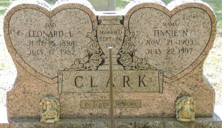 CLARK, TINNIE N - Cleburne County, Arkansas | TINNIE N CLARK - Arkansas Gravestone Photos