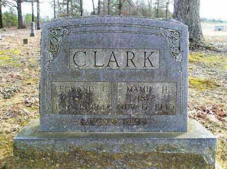 CLARK, MAMIE H - Cleburne County, Arkansas | MAMIE H CLARK - Arkansas Gravestone Photos