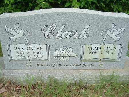 CLARK, MAX OSCAR - Cleburne County, Arkansas | MAX OSCAR CLARK - Arkansas Gravestone Photos