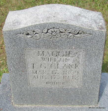 CLARK, MAGGIE - Cleburne County, Arkansas | MAGGIE CLARK - Arkansas Gravestone Photos