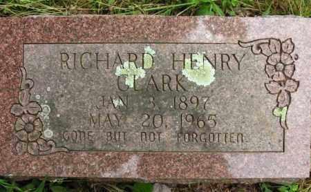 CLARK, RICHARD HENRY - Cleburne County, Arkansas | RICHARD HENRY CLARK - Arkansas Gravestone Photos