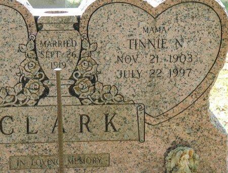 CLARK, TINNIE  N - Cleburne County, Arkansas | TINNIE  N CLARK - Arkansas Gravestone Photos