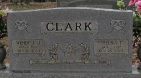 CLARK, WENDELL H - Cleburne County, Arkansas | WENDELL H CLARK - Arkansas Gravestone Photos