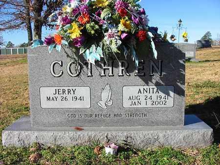 COTHREN, ANITA - Cleburne County, Arkansas | ANITA COTHREN - Arkansas Gravestone Photos